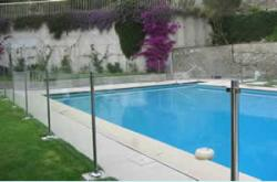 barriere securite piscine verre